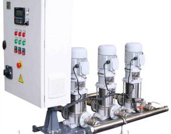 Бустерные насосные станции повышения давления АУПД на базе насосов Boosta для автоматического водоснабжения, пожаротушения